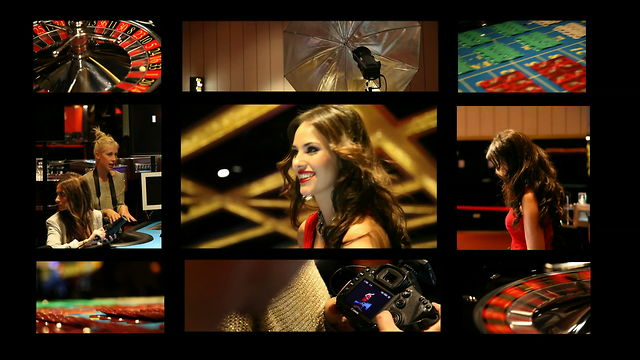 Making of - Casino with Helen Lindes
