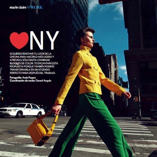 Marie Claire Mexico in NY