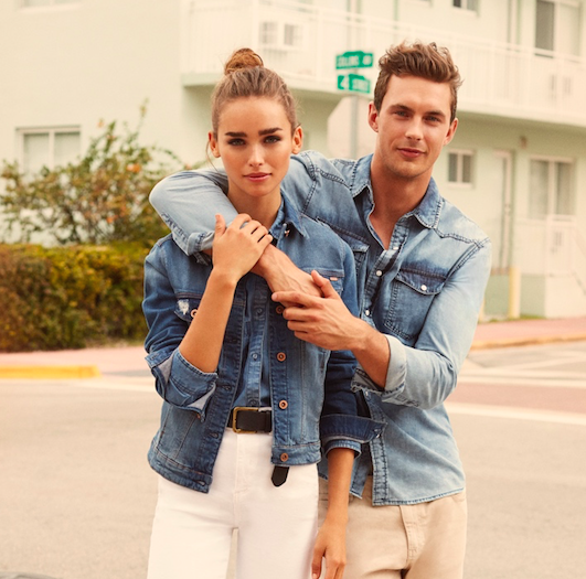Lefties Campaign SS16  Denim Lovers in Miami